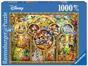 Ravensburger - Best Disney Themes Puzzle - 1000 Pieces