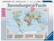 Ravensburger - Political World Map Puzzle - 1000 Pieces | Merchandise