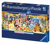Ravensburger - Disney Characters Panorama Puzzle - 1000 Pieces | Merchandise