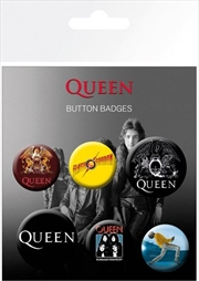 Queen Badge Pack