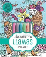 Pastel Kit Llamas And More | Hardback Book