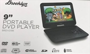 "Portable DVD Player - 9""(Inch) 
