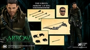 Arrow - Green Arrow (Season 7) Deluxe 1:8 Scale Action Figure | Merchandise