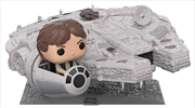 Star Wars - Han Solo Millennium Falcon US Exclusive Pop! Deluxe [RS]