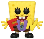 Spongebob - Spongebob with FUN US Exclusive Pop! Vinyl [RS]