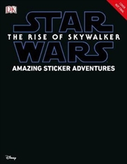 Star Wars The Rise of Skywalker Amazing Sticker Adventures | Paperback Book