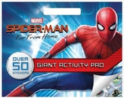 Spider-Man Far from Home Giant Activity Pad