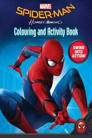 Spider-Man Homecoming Colouring and Activity Book | Paperback Book