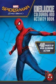 Spider-Man Homecoming - Deluxe Colouring And Activity Book | Paperback Book