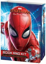 Spider-Man Far from Home Book and Kit