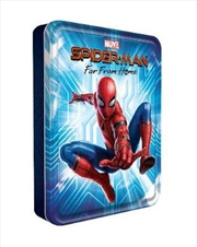 Spider-Man Far From Home Happy Tin | Hardback Book
