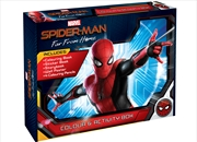 Spider-Man Far From Home Colour and Activity Box | Hardback Book