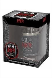 Slayer - Eagle Logo Shot Glass | Merchandise