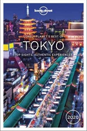 Lonely Planet Travel Guide - Best Of Tokyo 2020 | Paperback Book