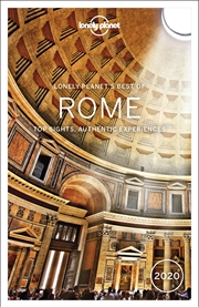 Lonely Planet Travel Guide - Best Of Rome 2020 | Paperback Book