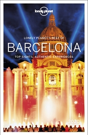 Lonely Planet Travel Guide - Best Of Barcelona 2020 | Paperback Book