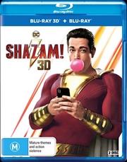 Shazam! | 3D + 2D Blu-ray