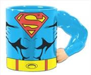 Superman Hero Arm Mug | Merchandise
