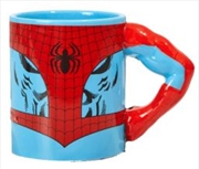 Spiderman Hero Arm Mug