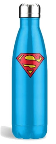 Superman Blue Stainless Steel Bottle
