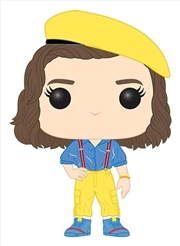 Stranger Things - Eleven in Yellow Outfit US Exclusive Pop! Vinyl [RS]