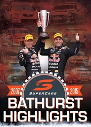 V8 Supercars - 2007-2015 Bathurst 1000 Highlights Collection | DVD