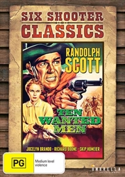 Ten Wanted Men | Six Shooter Classics