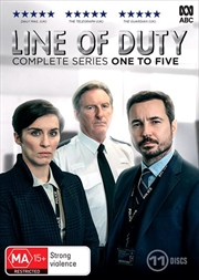 Line Of Duty - Season 1-5 | Boxset