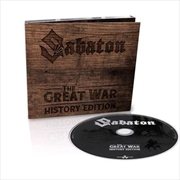 Great War - History Edition Digipack (Incl. Narrated Parts In Addition To  The Album Tracks)