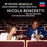 Marsalis Wynton - Violin Concerto - Fiddle Dance Suite | CD