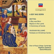 A Boy Was Born - Britten Vaughan Williams | CD