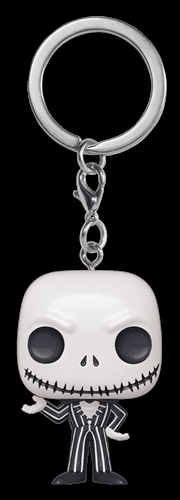 The Nightmare Before Christmas - Jack Skellington Metallic Pocket Pop! Keychain