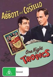 One Night In The Tropics | DVD