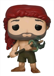 Cast Away - Chuck with Spear & Crab US Exclusive Pop! Vinyl [RS] | Pop Vinyl