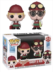 Peppermint Lane - Randy & Rob Pop! Vinyl 2-pack | Pop Vinyl