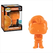 Conan O'Brien - Conan Orange Chrome Pop! SDCC 19 RS | Pop Vinyl