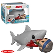 "Jaws - Jaws Eating Quint 6"" Pop! SDCC 19 RS"