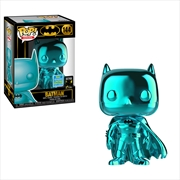Batman - Batman Teal Chrome Pop! SDCC 19 RS