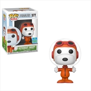 Peanuts - Astronaut Snoopy Pop! SDCC 19 RS