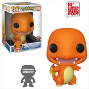 "Pokemon - Charmander 10"" US Exclusive Pop! Vinyl [RS] 