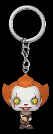 It ch2 - Pennywise w/Beaver Hat Pop! Keychain | Pop Vinyl