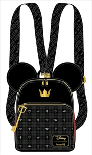 Kingdom Hearts - Mickey Convertible Backpack