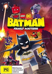 Lego DC Batman - Family Matters | DVD