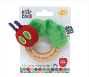 Tiny Caterpillar Ring Rattle | Toy