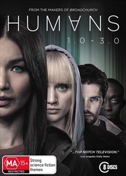 Humans - Season 1-3 | Boxset