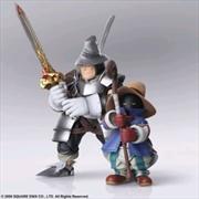 Final Fantasy IX - Vivi & Adelbert Bring Arts