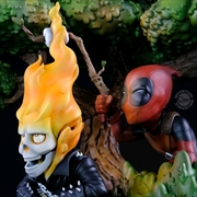 Marvel - Deadpool & Ghost Rider Q-Master | Merchandise