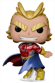 My Hero Academia - All Might Metallic US Exclusive Pop! Vinyl [RS]	 | Pop Vinyl