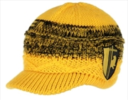 Harry Potter - Hufflepuff Knit Brim Cap | Apparel