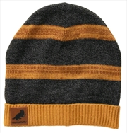 Harry Potter - Hufflepuff Heathered Knit Beanie | Apparel